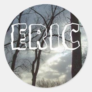 一流のステッカー: エリック ラウンドシール