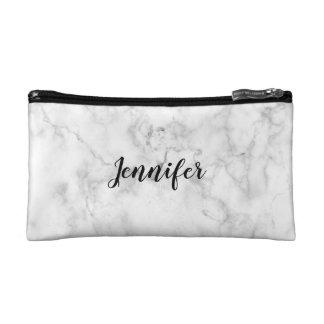 一流の化粧品のバッグ|の大理石のミニマリスト + モダン コスメティックバッグ