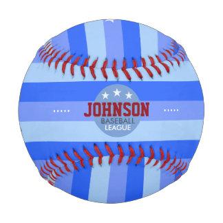 一流の名前入りなこうもりおよびボール縞で飾り、 ベースボール