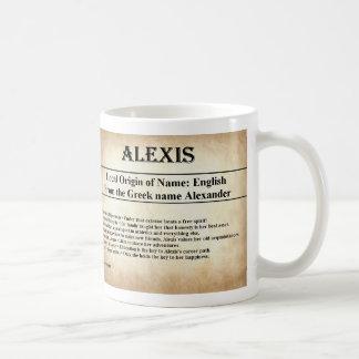 一流の意味マグ-アレキシス コーヒーマグカップ