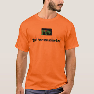「一続きの時間私に-気難しいgusのワイシャツ気づきました tシャツ