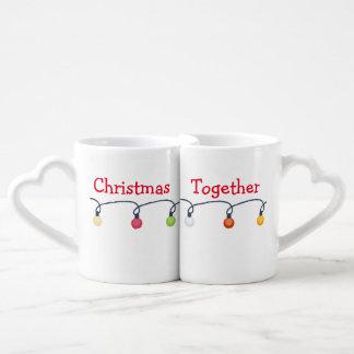 一緒のクリスマス ペアカップ