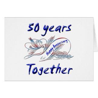 一緒の50年 カード