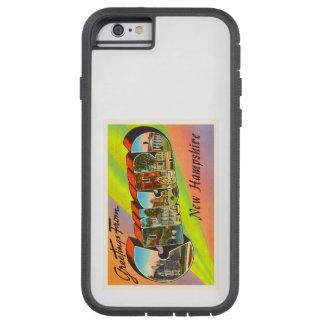 一致のニューハンプシャーNHのヴィンテージ旅行記念品 TOUGH XTREME iPhone 6 ケース