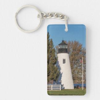 一致ポイント灯台 キーホルダー