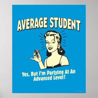 一般学生: 進むパーティを楽しむこと ポスター