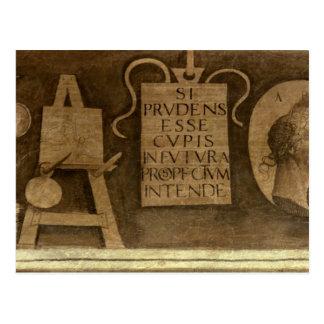 「一般教養科目」からの芸術は、循環します(フレスコ画) ポストカード