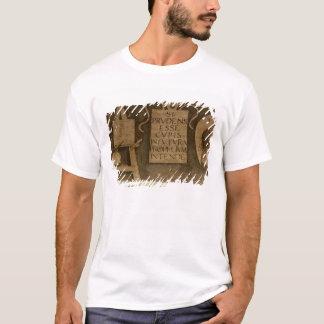 「一般教養科目」からの芸術は、循環します(フレスコ画) Tシャツ