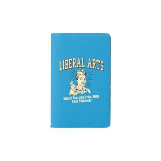 一般教養科目: 免状が付いている同類の揚げ物 ポケットMoleskineノートブック