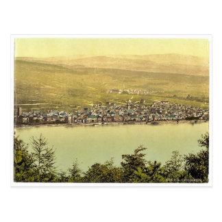 一般的な見解、Rudesheim、ラインのドイツclassi ポストカード