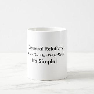 一般相対性理論それはシンプルなコーヒー・マグです コーヒーマグカップ