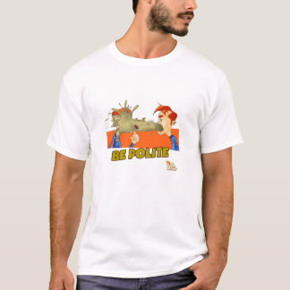 丁寧があって下さい Tシャツ