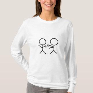 丁寧な他人。 Tシャツ