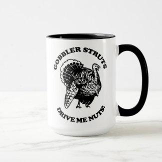 七面鳥のハンターのためのコーヒー・マグ マグカップ