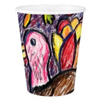 七面鳥の芸術2 紙コップ