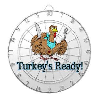 七面鳥は感謝祭を用意します ダーツボード