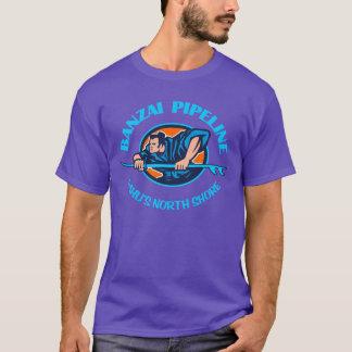 万歳のパイプラインの服装 Tシャツ
