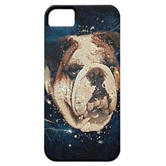 万能なブルドッグのiPhone 5/5sの例 iPhone SE/5/5s ケース
