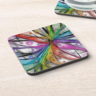 万華鏡のように千変万化するパターンのトンボ コースター