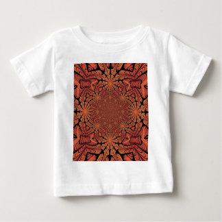 万華鏡のように千変万化するパターンの破烈 ベビーTシャツ