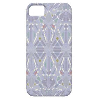 万華鏡のように千変万化するパターンの至福-石板の青 iPhone SE/5/5s ケース