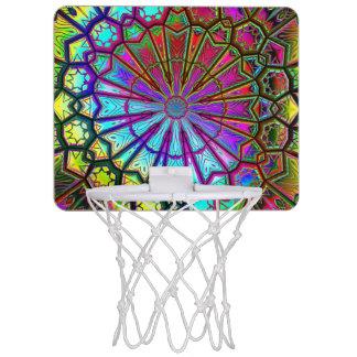 万華鏡のように千変万化するパターンの芸術14の小型バスケットボールバスケ ミニバスケットボールゴール
