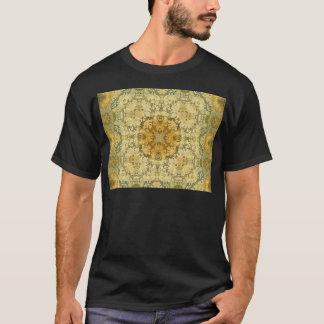 万華鏡のように千変万化するパターンのKreationsのヴィンテージのバロック2 Tシャツ