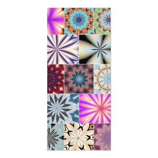 万華鏡のように千変万化するパターンカード マグネットカード