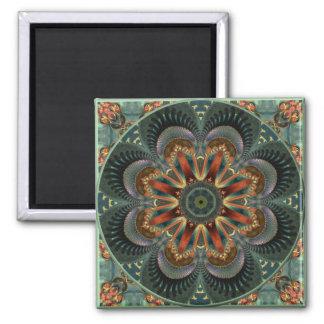 万華鏡のように千変万化するパターン118の磁石 磁石
