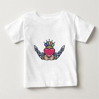 三位一体とのCladdagh #1B ベビーTシャツ