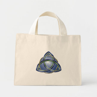 三位一体の結び目のバッグ ミニトートバッグ