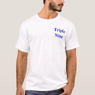 三倍9バンドt tシャツ
