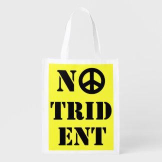 三叉の矛のスコットランドの独立買い物袋無し エコバッグ