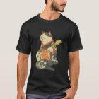 三味線を弾く猫、ギター、Kuniyoshiの浮世絵を演奏している国芳猫 Tシャツ
