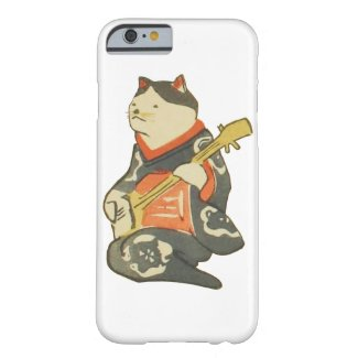 三味線を弾く猫, 国芳 CatPlayingGuitar, Kuniyoshi, Ukiyoe iPhone 6 ベアリーゼアケース