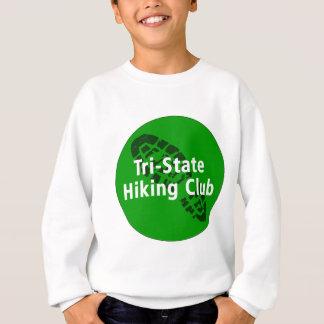 三国から成ったハイキングクラブ-円のロゴ スウェットシャツ