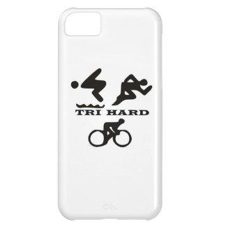 三堅いトライアスロンのギフト衣類および付属品 iPhone5Cケース