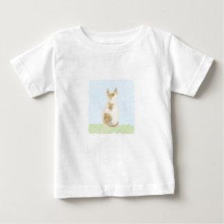 三毛猫のTシャツ ベビーTシャツ