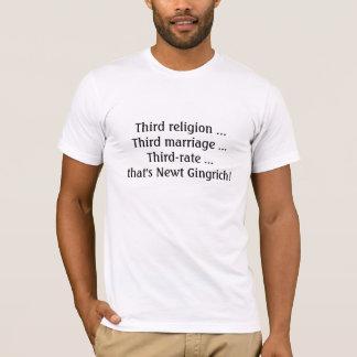 三流のギングリッチ! Tシャツ