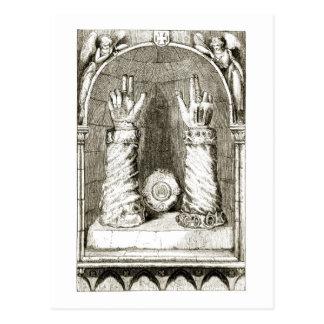 「三組Thuaからのセントパトリックの手の神社、 ポストカード