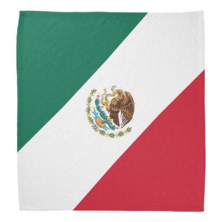 三色愛国心が強いメキシコ旗Bandera Mexicana バンダナ