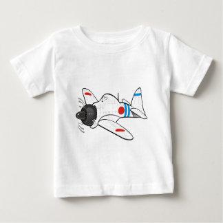 三菱ゼロ ベビーTシャツ