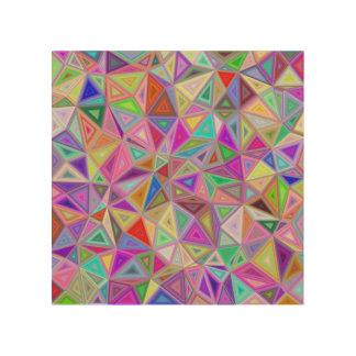 三角の幸福 ウッドウォールアート