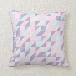 三角パターン枕コントラスト クッション