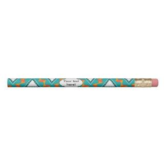 三角形および他の形パターン 鉛筆