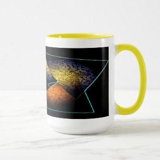 三角形が付いているコーヒーのためのマグ マグカップ