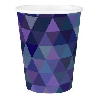 三角形のタイル 紙コップ