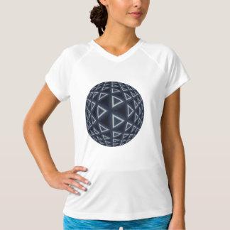 三角形の世界 Tシャツ