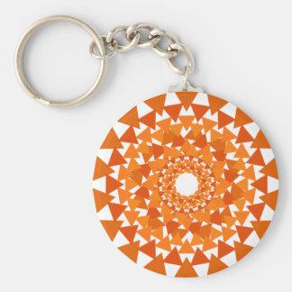 三角形の円Keychain キーホルダー