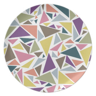 三角形の分散 プレート